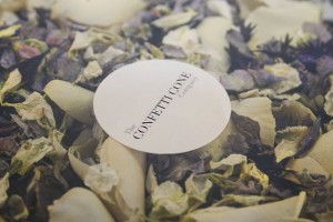 Mixing Bowl - Biodegradable Wedding Confetti.