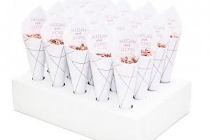 Biodegradable Wedding Confetti and Wedding Confetti Cones