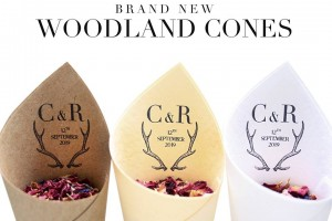 Woodland Confetti Cones.