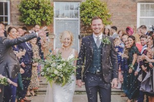 Wedding Confetti Moment With Biodegradable Wedding Confetti