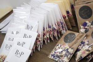 Bespoke Personalised Wedding Confetti