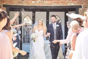 Gemma & Elliot's Confetti Moment!