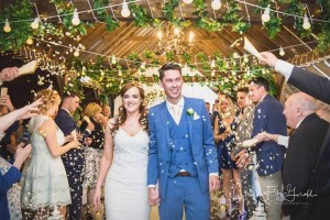 Tom & Mandy's Perfect Confetti Moment