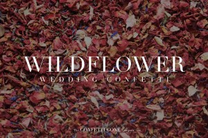 Wildflower Wedding Confetti - Biodegradable Confetti