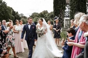 Wedding Confetti Moment Photo