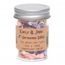 Alice in Wonderland Confetti Jars