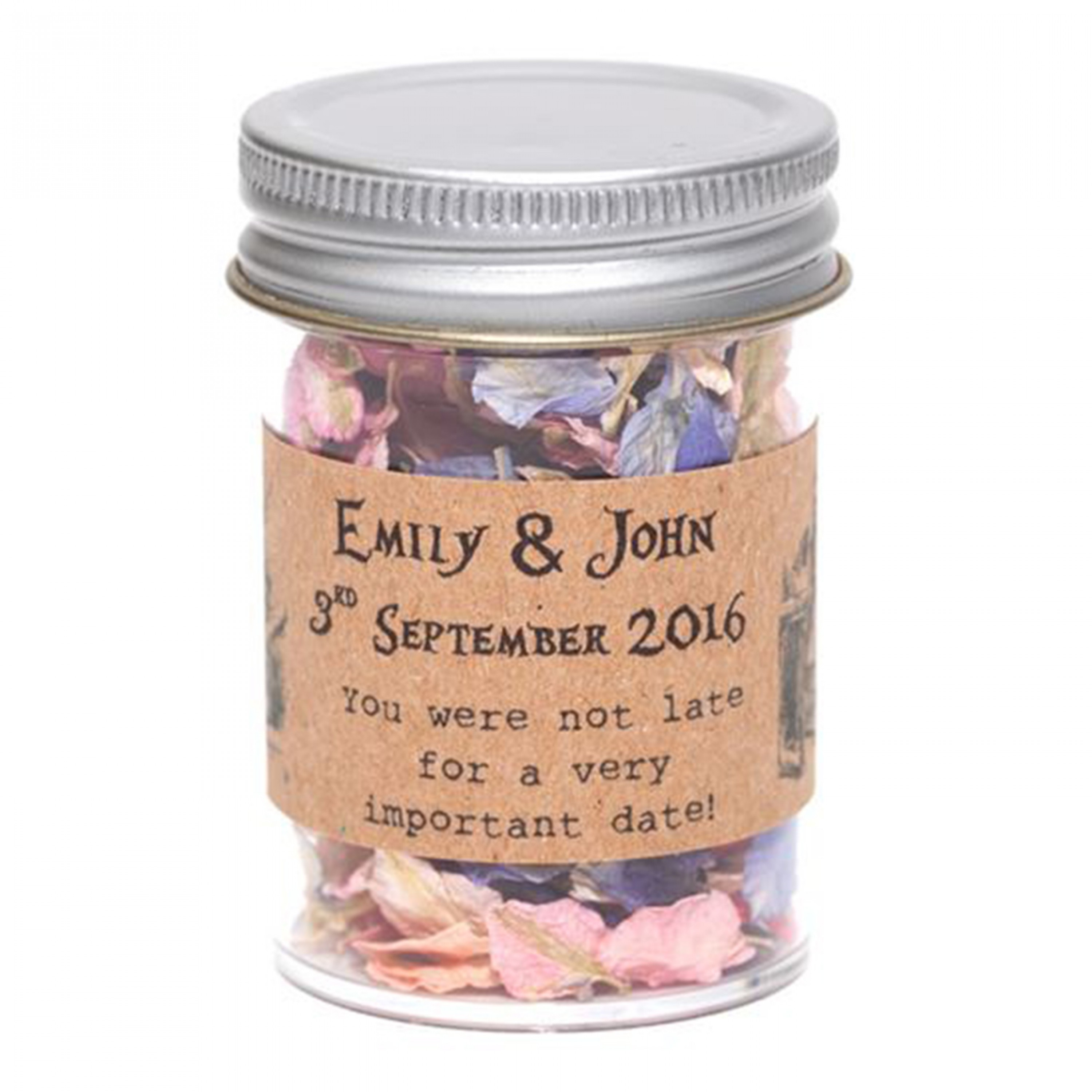 Alice in Wonderland Confetti Jars