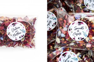 BRAND NEW Wedding Confetti Petal Packets for 2020