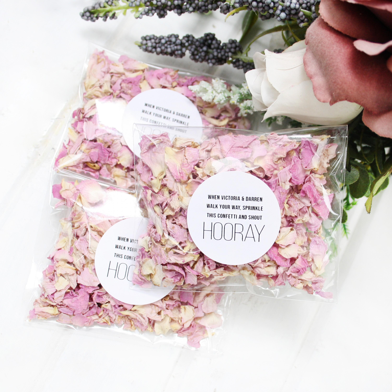 Hooray Blossom Wildflower Confetti Envelopes