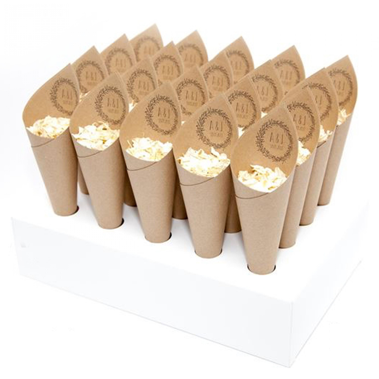 Boho Confetti Cone Package