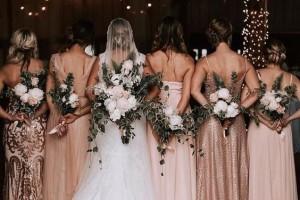 Bridesmaid Proposal Ideas With Biodegradable Wedding Confetti