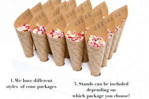 Confetti Cone Packages