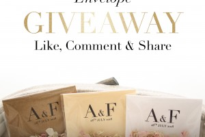 Win Your Biodegradable Wedding Confetti Envelopes