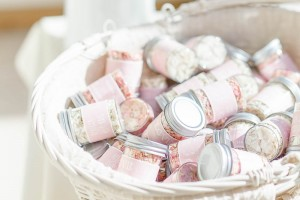 Wedding Confetti Jars.