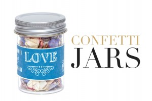 Wedding Confetti Jars