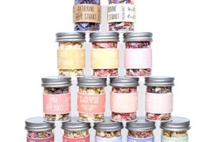 Confetti Jars With Biodegradable Wedding Confetti Petals