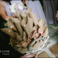 Personalised Confetti Cones for Weddings