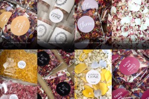 Personalised Wedding Confetti Accessories for 2020