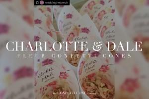 Charlotte & Dale Fleur Cones
