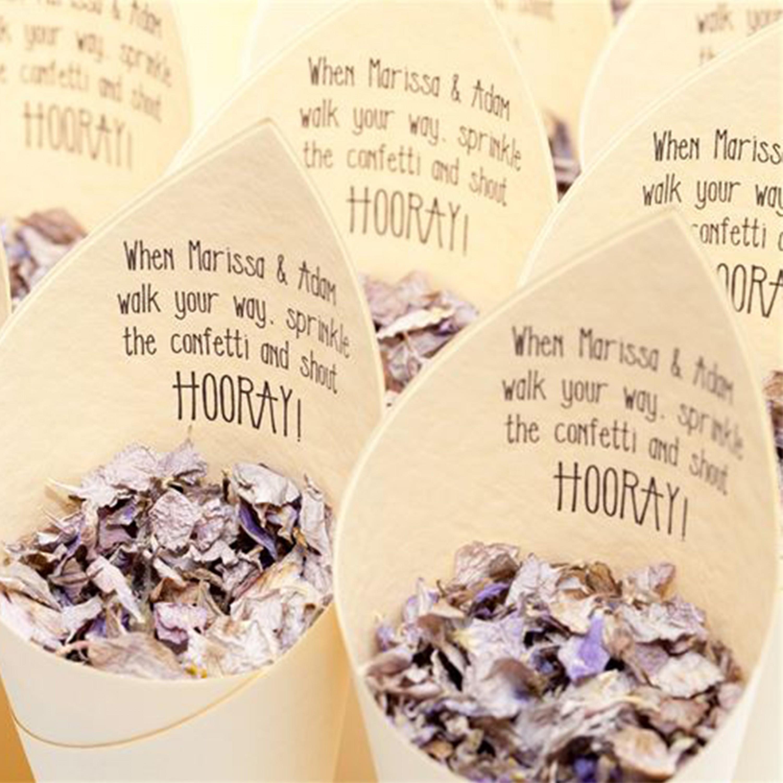 Modern Hooray Confetti Cones