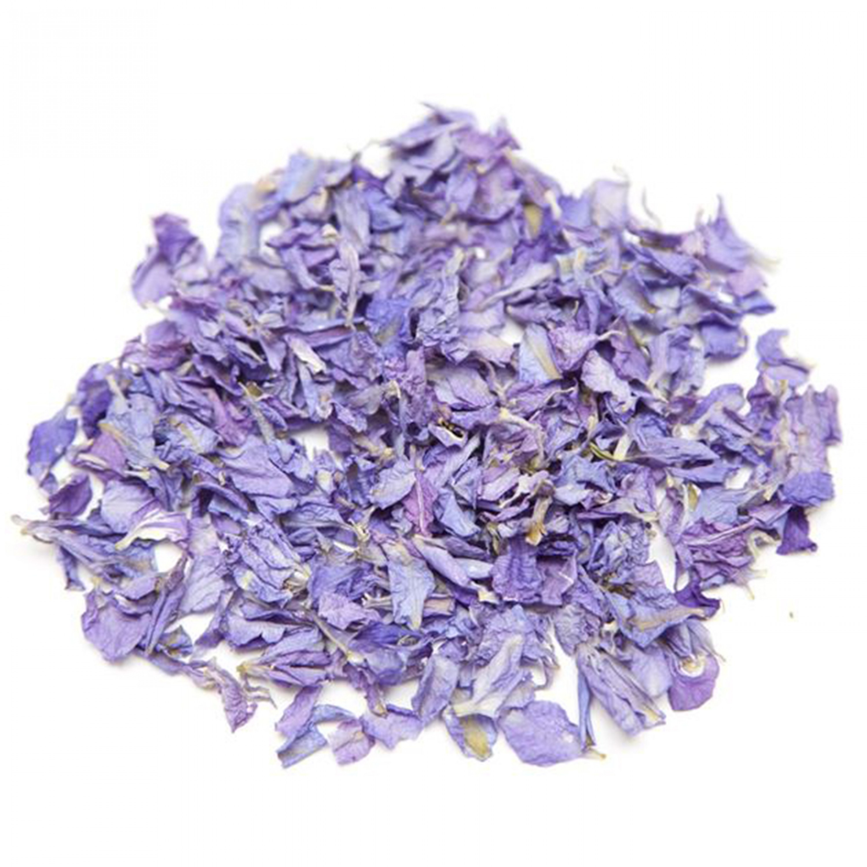 Lavender Larkspur Petals