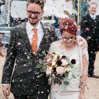 Wedding Confetti Moment