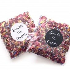Wildflower Confetti Envelopes