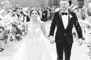 Olivia & Matt's Perfect Confetti Moment