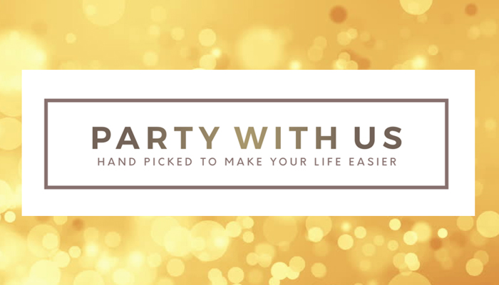Party with us logo