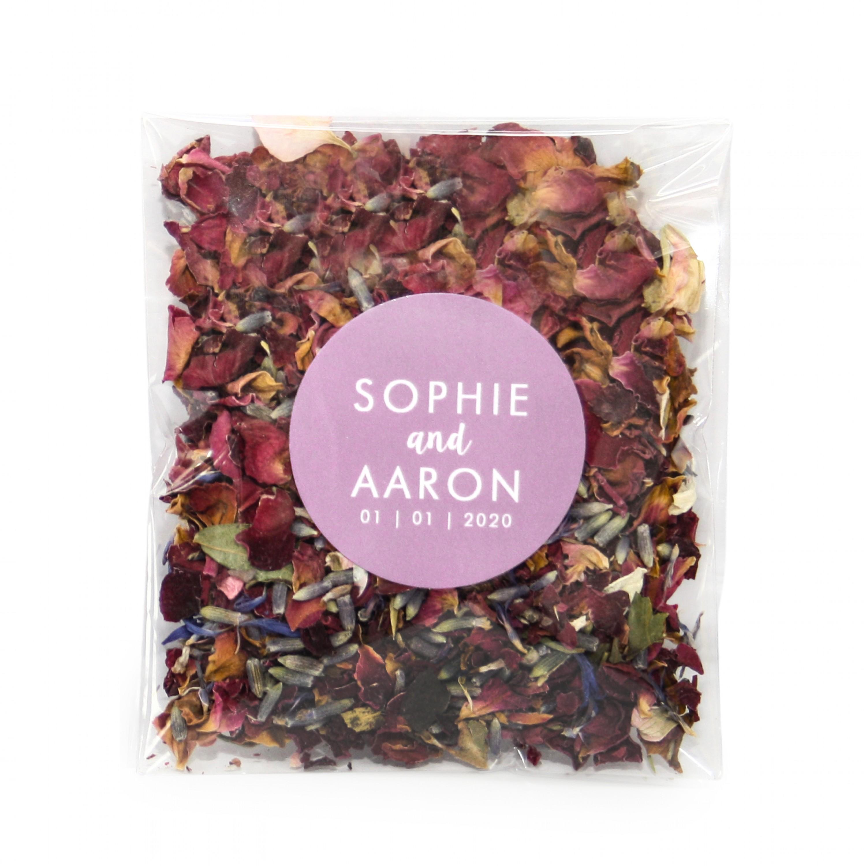 Personalised Wildflower Confetti Envelopes