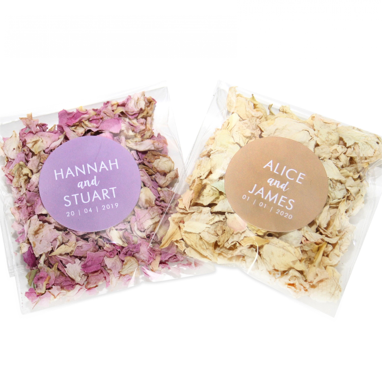 Blossom / Vanilla Wildflower Confetti Envelopes