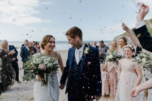 Customer Wedding Confetti Moment With Biodegradable Wedding Confetti