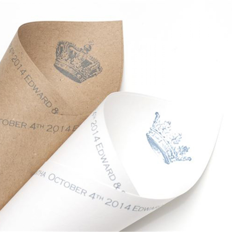 Royal Confetti Cones