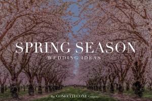 Spring Season Wedding Confetti Ideas