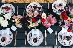 Wildflower Table Decor Idea