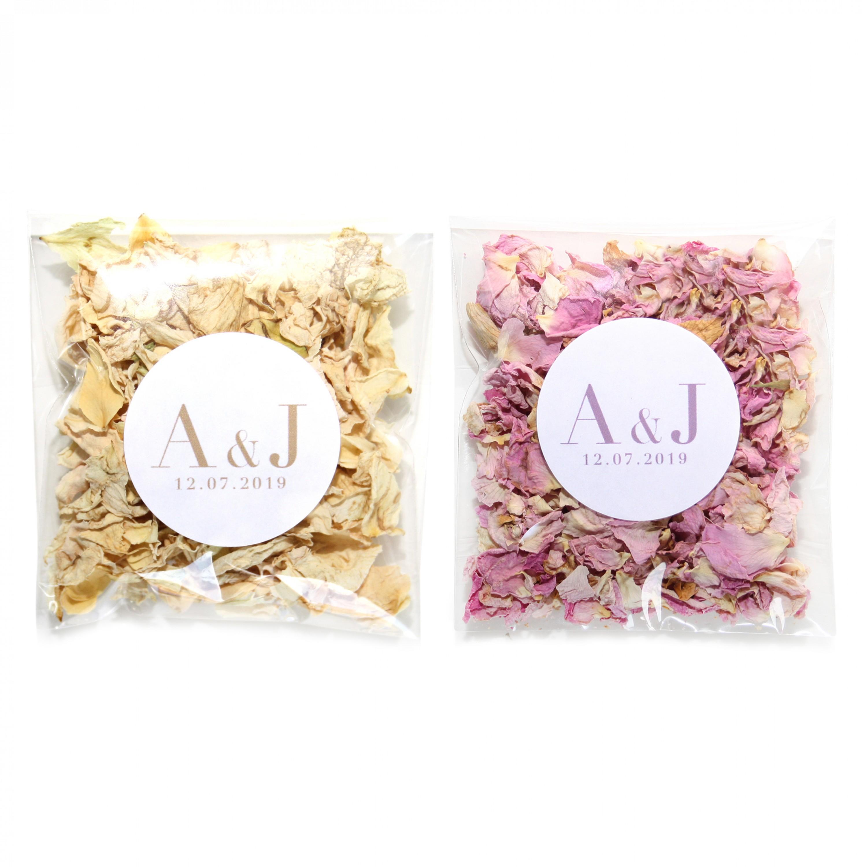 Vogue Blossom / Vanilla Wildflower Confetti Envelopes