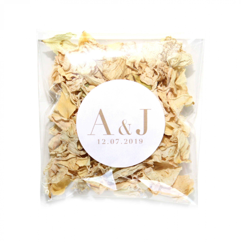 Vogue Vanilla Wildflower Confetti Envelopes